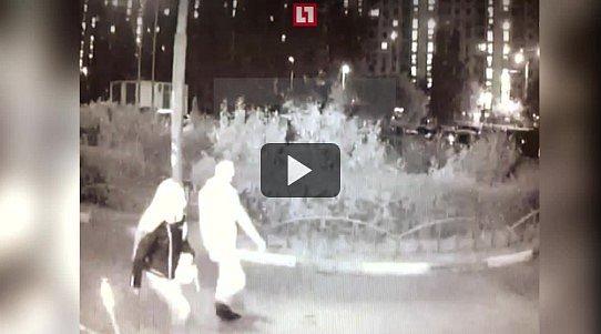 Предполагаемый убийца российского спортсмена (видео)