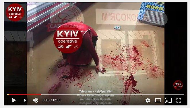 Преступник порезал продавщицу продуктового магазина