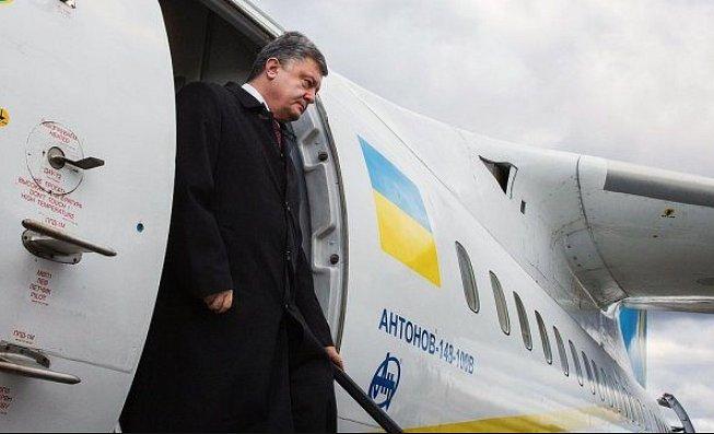 Порошенко уходит софициальным визитом вПортугалию