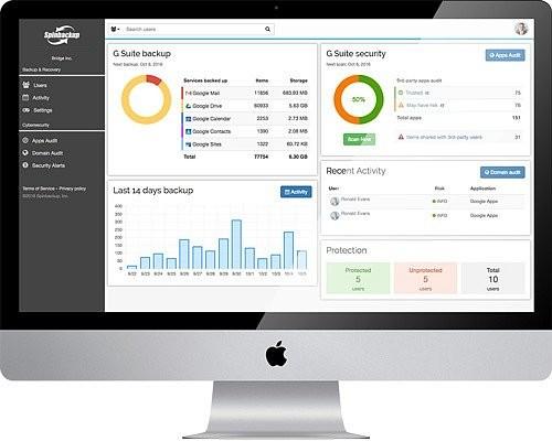 Ваши данные в облаке G Suite в безопасности: на украинский рынок выходит сервис для защиты информации Spinbackup
