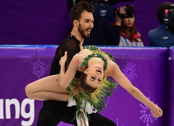 Олимпиада 2018: Вовремя выступления французская фигуриста оголила грудь
