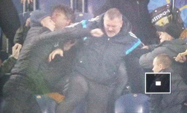 Ультрас избили народного депутата Юрия Березу (фото)