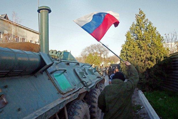 РосСМИ признали захват Крыма армией РФ