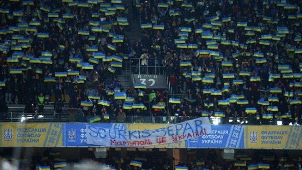 SCURKIS-SEPAR: на матче Украина – Хорватия фанаты вывесили скандальный баннер