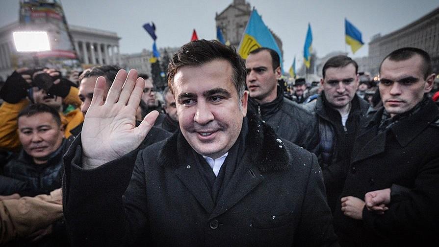 ВНидерландах сообщили , что ожидают  Саакашвили для воссоединения семьи