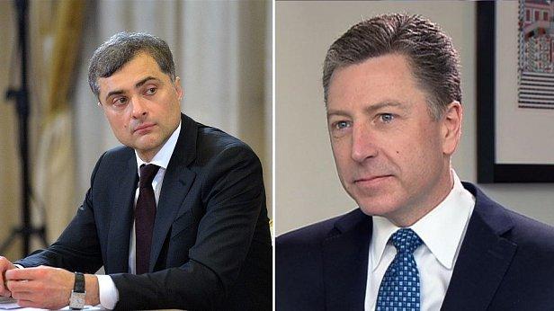 Не договорились: появились результаты встречи Волкера и Суркова