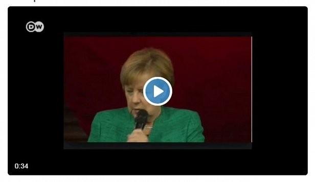 «Я мечтаю проехать по Транссибу в России» — Меркель (видео)