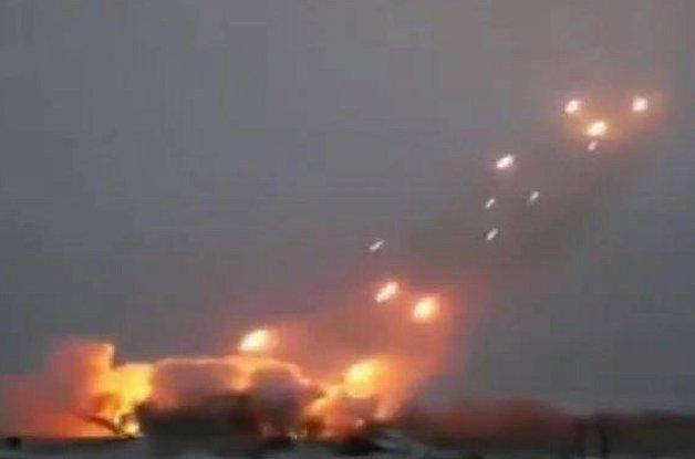 ВДонецкой области боевики обстреляли пограничный пункт зенитными установками