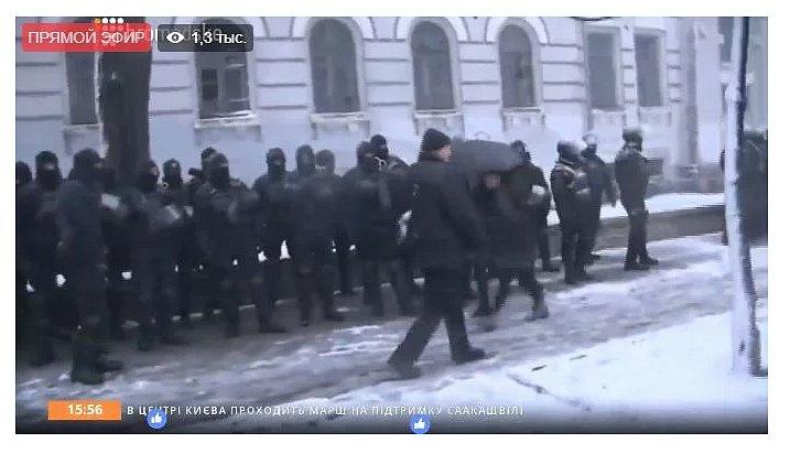 Саакашвили: «янезадержанный, авоеннопленный»