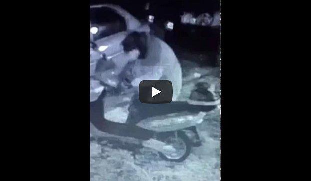 Вглобальной паутине выложили видеозапись убийцы, покушавшегося на народного депутата Мосийчука