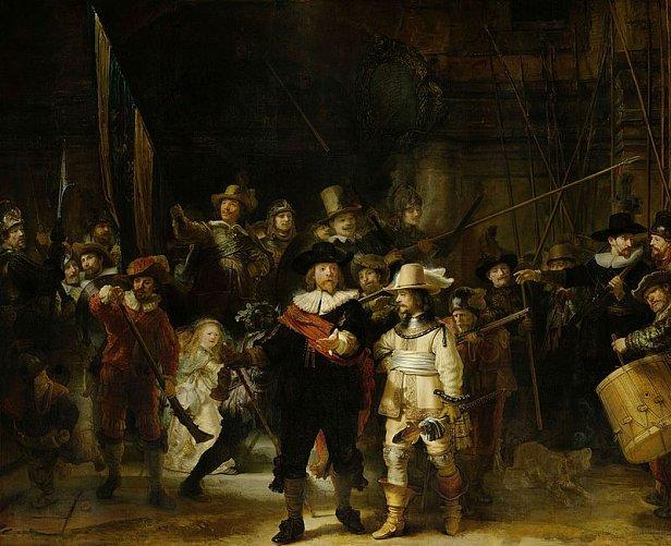Рембрандт, «Ночной дозор», 1642