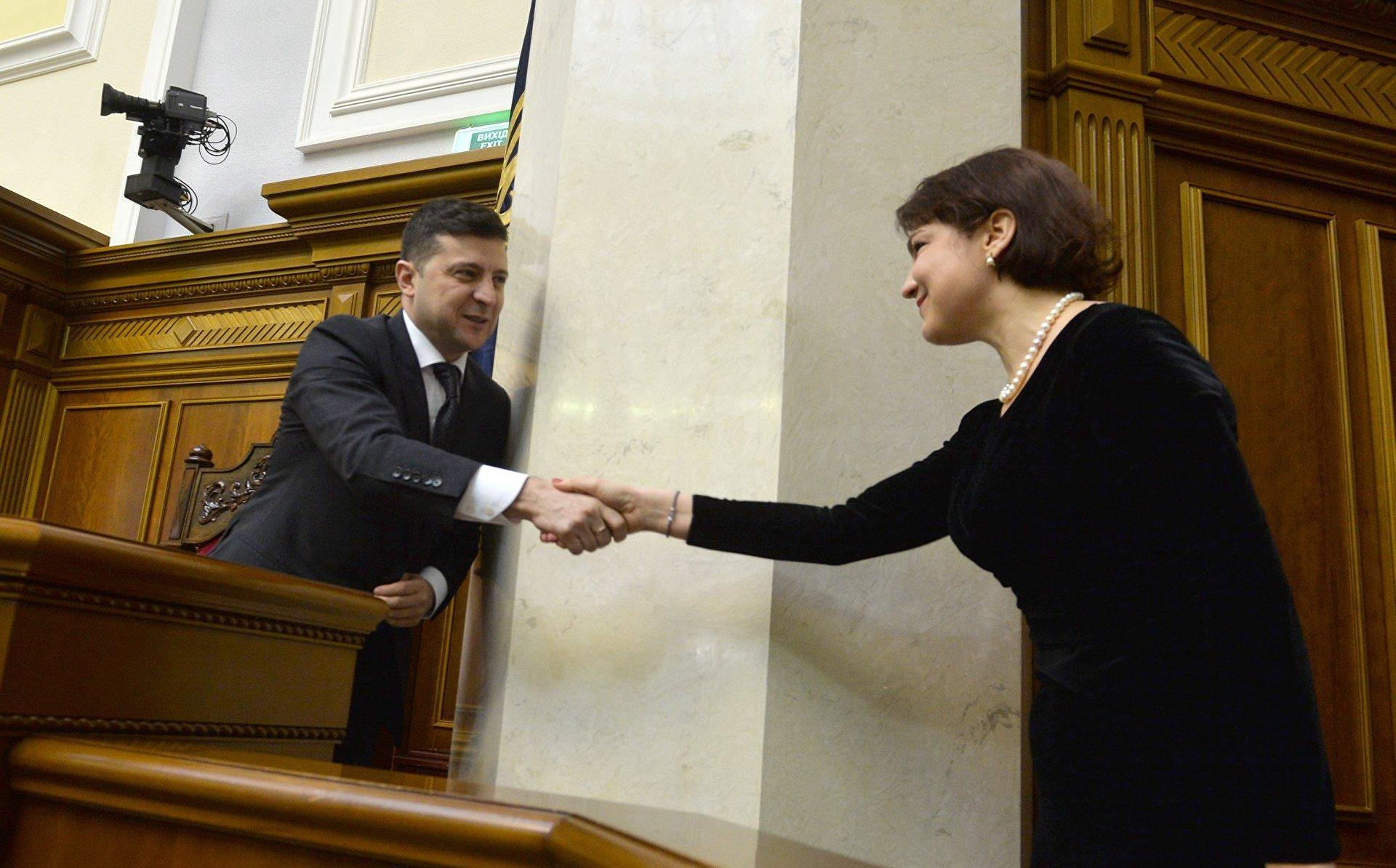 фото — Президент Зеленский и Венедиктова