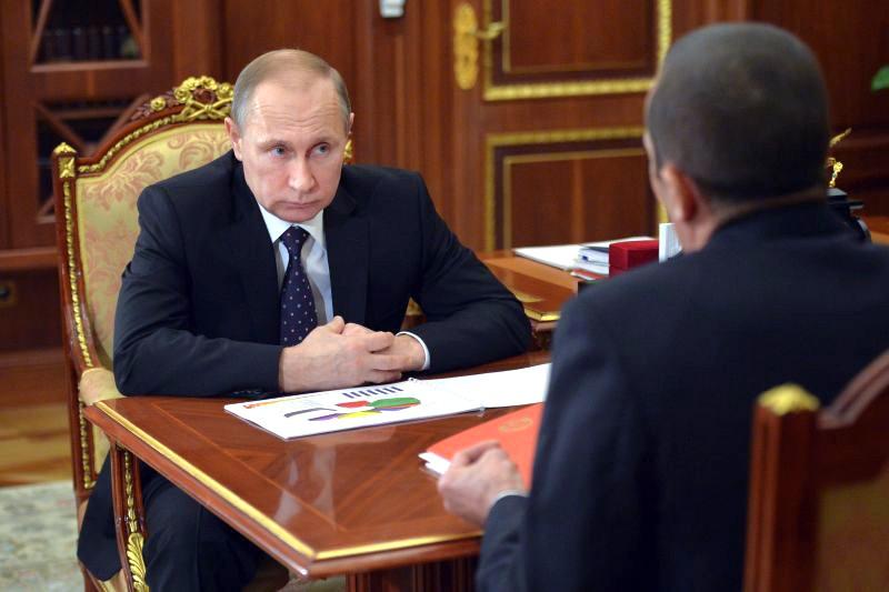 фото — Путин и Игнатьев