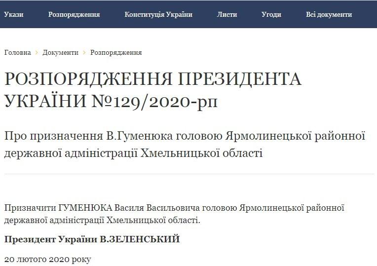 """Зеленський призначив коміка з """"Ліги сміху"""" головою РДА в Хмельницькій області"""