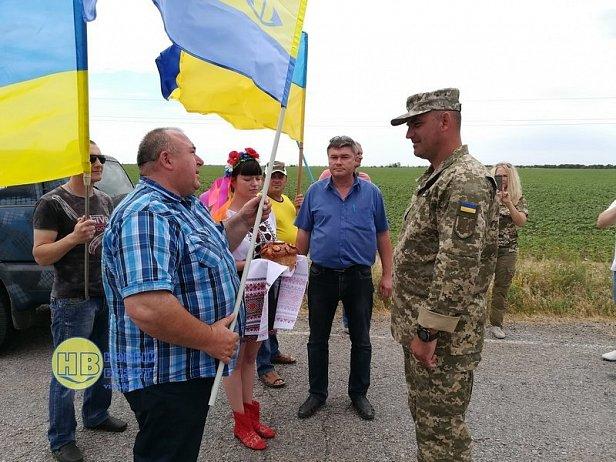 Возле Крыма необычно встретили легендарный украинский батальон: появилось фото и видео