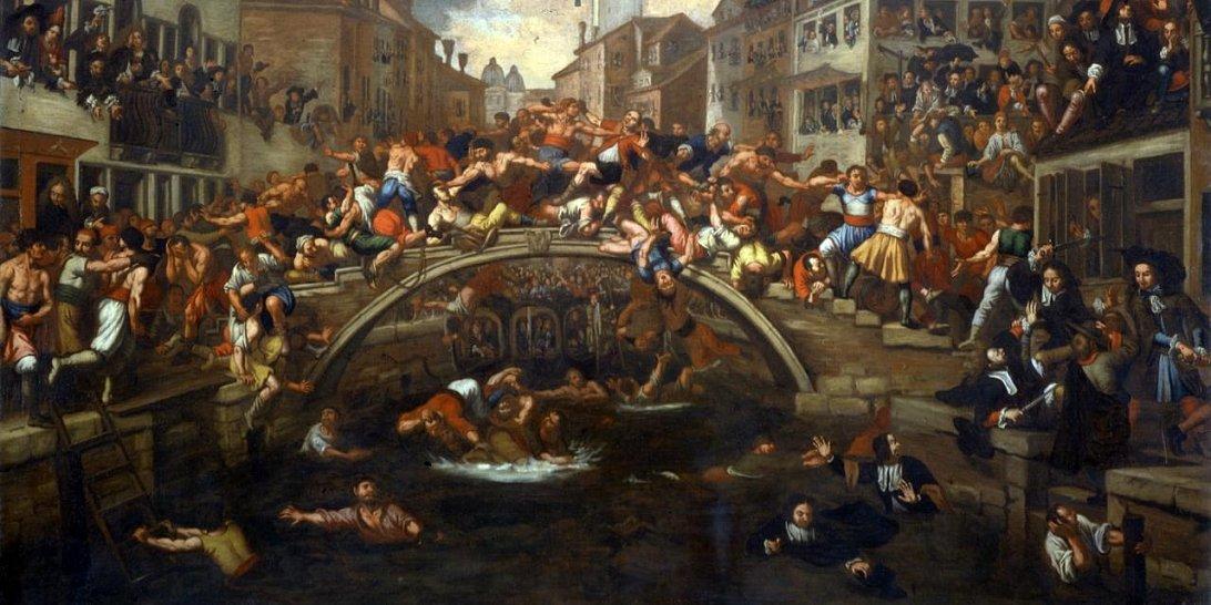 Двор чудес, район Парижа в XVII веке, автор неизвестен
