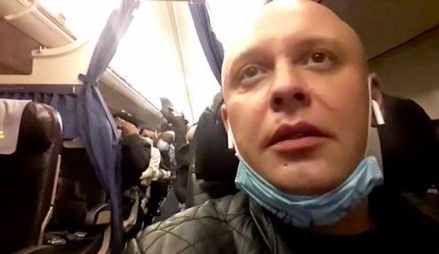 В Киев из Италии прибыл самолет больных египтян. Многих просто отпустили