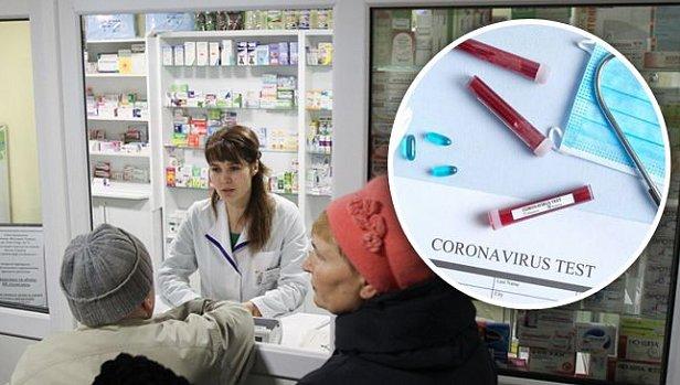 Фото — Тесты на коронавирус в аптеках