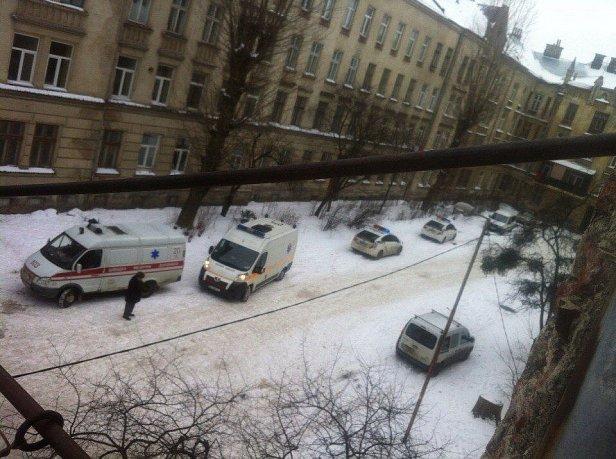 Во Львове на улице Городоцкой прогремел взрыв