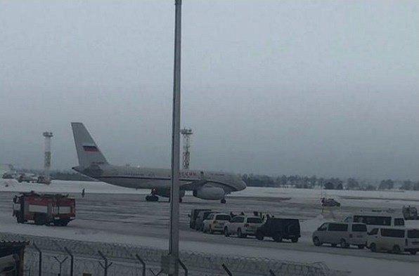 Самолет Путина заметили в Сирии: появились фото