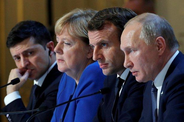 Фото — Нормандский саммит
