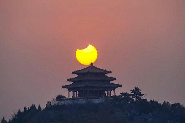 Сонце. Фото: Твиттер