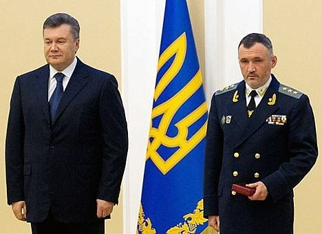 Фото - Янукович и Кузьмин