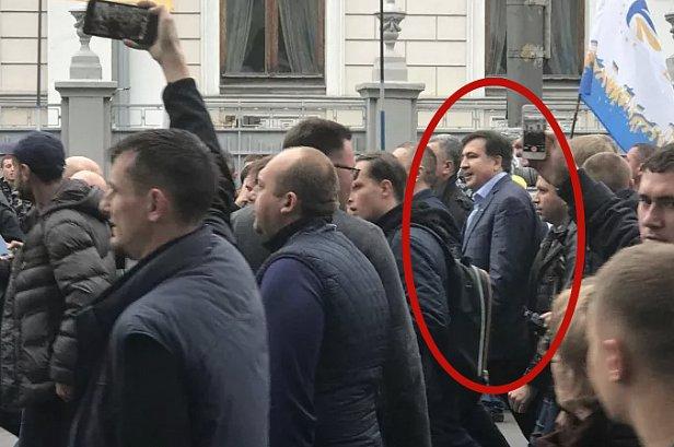 Саакашвили под Радой: первые подробности (фото)