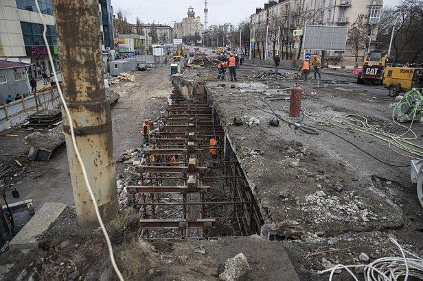 Фото - ремонт Шулявского моста