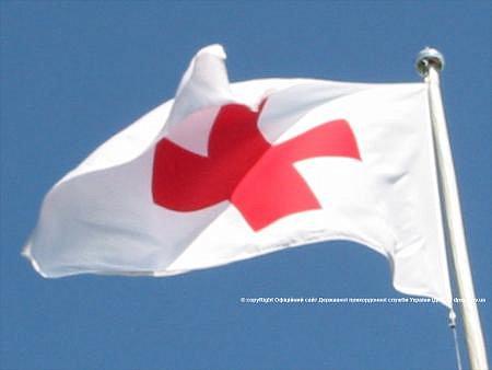 ГПС: боевики не пустили в Донецк «гуманитарку» Красного Креста