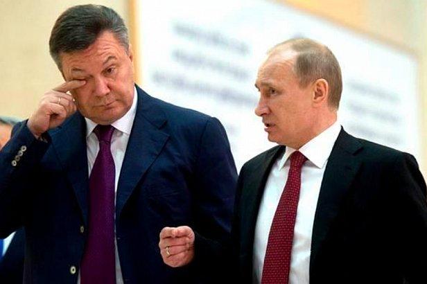 фото - Янукович и Путин