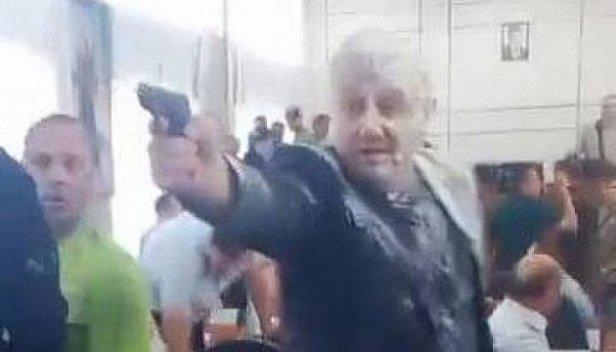 стрельба на сессии Николаевского горсовета