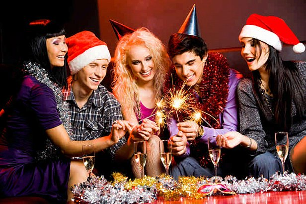 Фото: Празднование Нового года