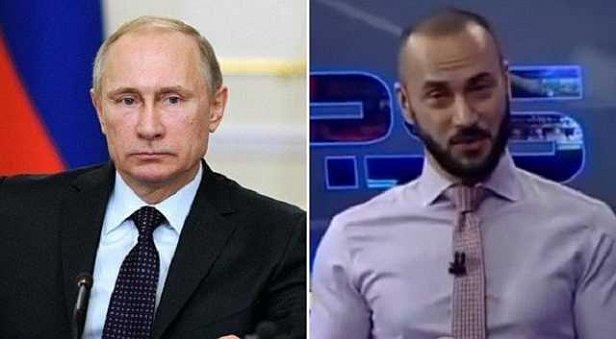 Фото - Путин и Габуния