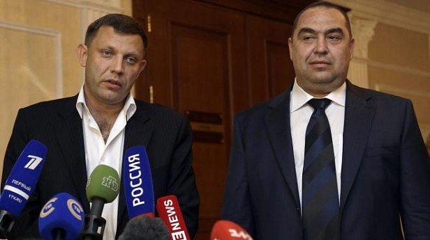 Главари ДНР Захарченко и ЛНР Плотницкий решили не приезжать лично на встречу в Минск