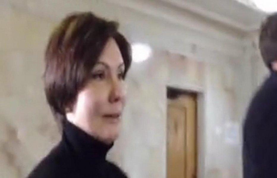 Экс-регионалка пришла в Раду через день после эфира на РосТВ, где защищала Путина. Видео