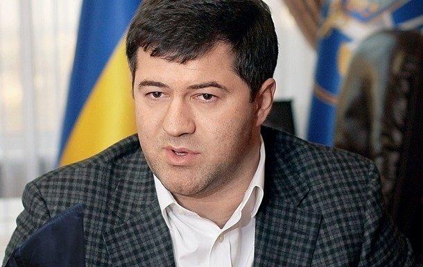 Насиров показал деларацию с доходом в 6 гривен