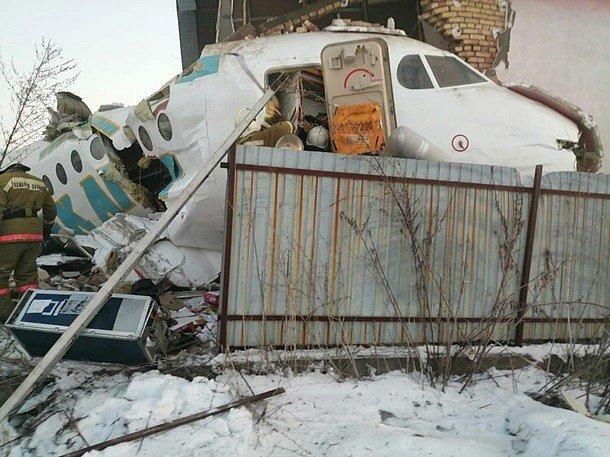 Фото — Авиакатастрофа