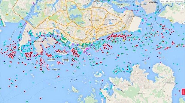 фото - порты в Сингапуре