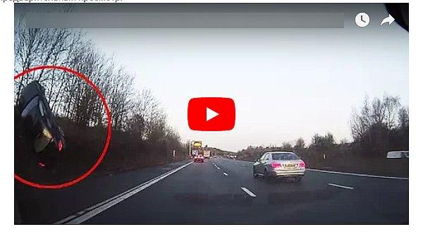 Страшно смотреть: Появился видео момента страшной аварии