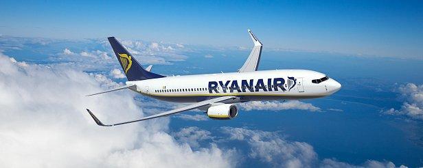 На фото  - Ryanair
