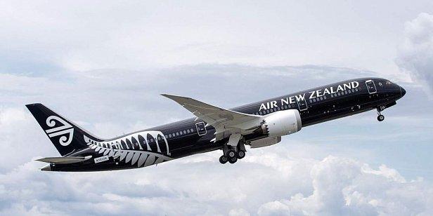 Фото — Самолёт Air New Zealand