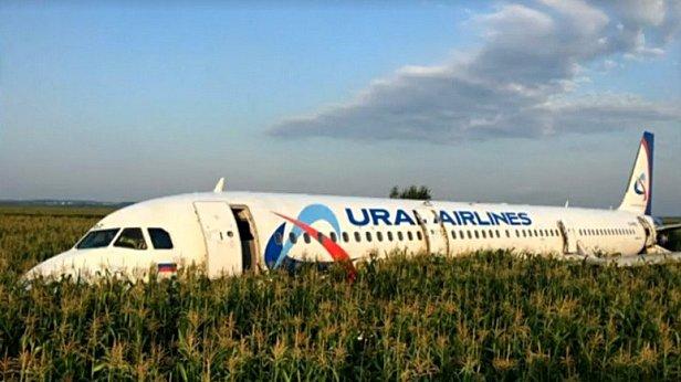 Фото - Самолет А321 совершил аварийную посадку