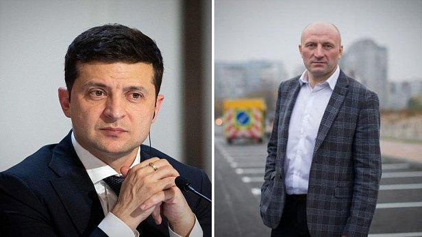 Фото - Владимир Зеленский и Анатолий Бондаренко
