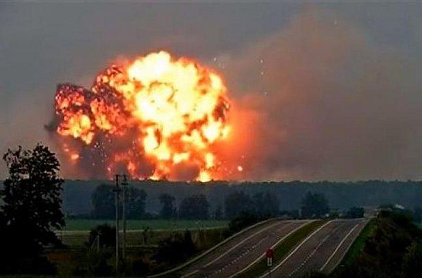 Фото - на арсенале в Калиновке вновь прогремели взрывы