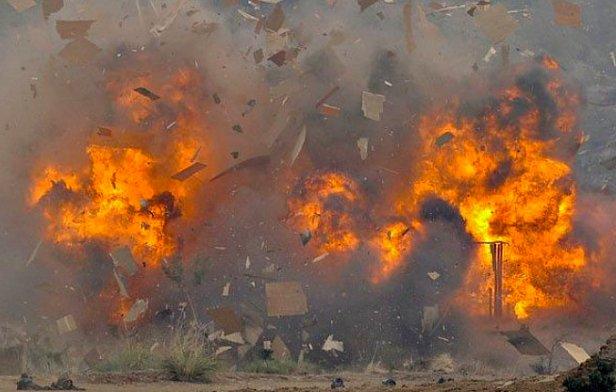 фото - взрыв банка ТАС