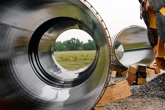 Газпром перенаправит трубы с «Южного коридора» в «Северный поток»