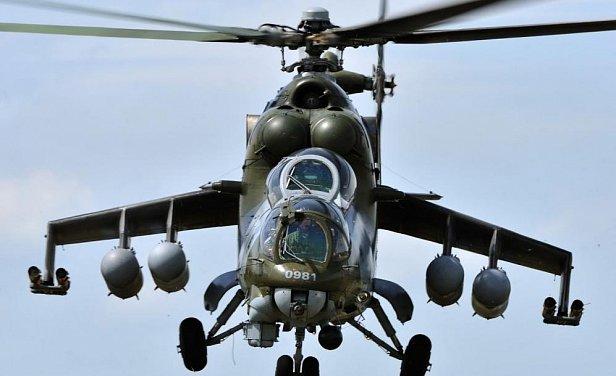 Российский вертолёт нарушил воздушное пространство Грузии