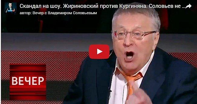 Жириновский:  Донбасс в крови потому, что большая часть Украины не хочет советской власти (видео)