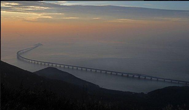 В Китае открыли самый длинный в мире мост: видео